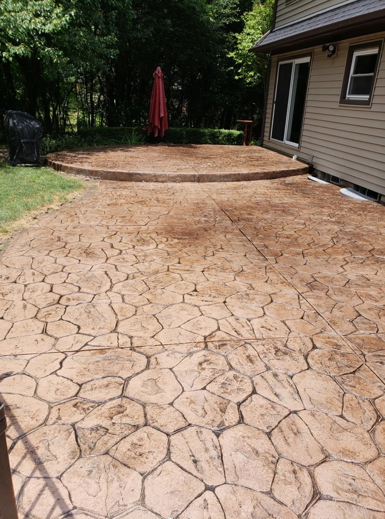 Michigan Brick Paver and Stamped Concrete Restoration